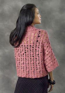 CARAMELO DE CROCHET: kimono en crochet