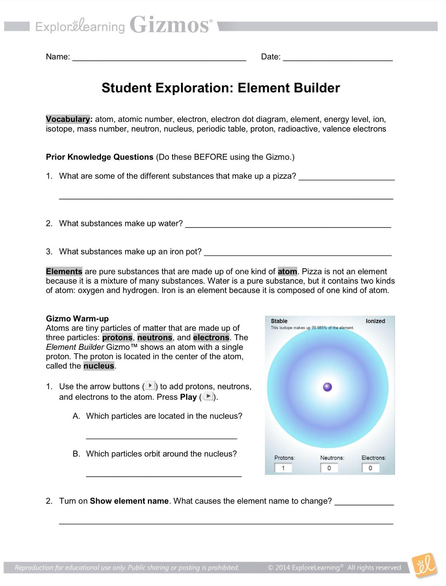 Element Builder