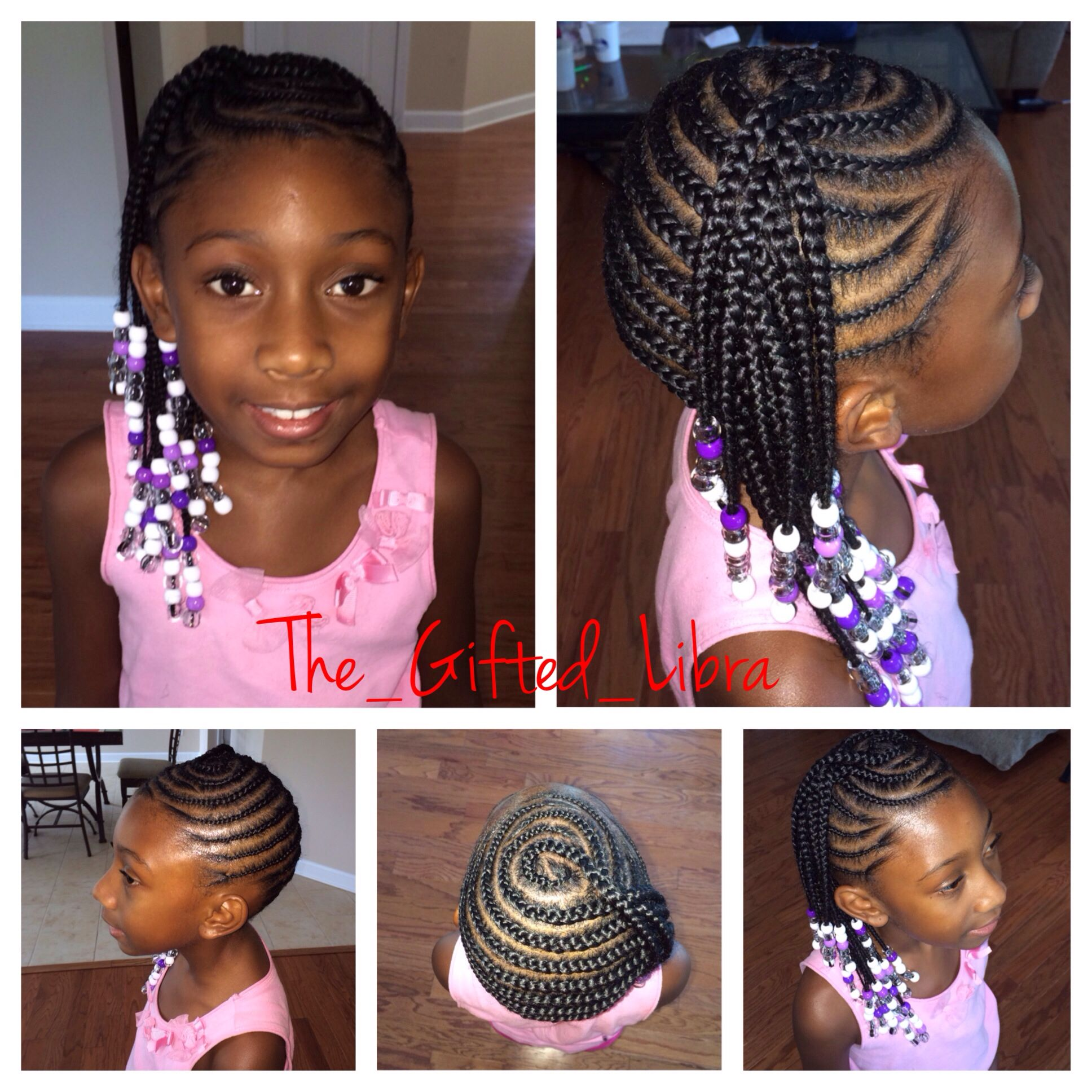 Simple Style But Neat And It Beats The Summer Heat Quick And Easy Style That Ll Last Natural Hairstyles For Kids Natural Hair Styles Natural Hair Styles Easy