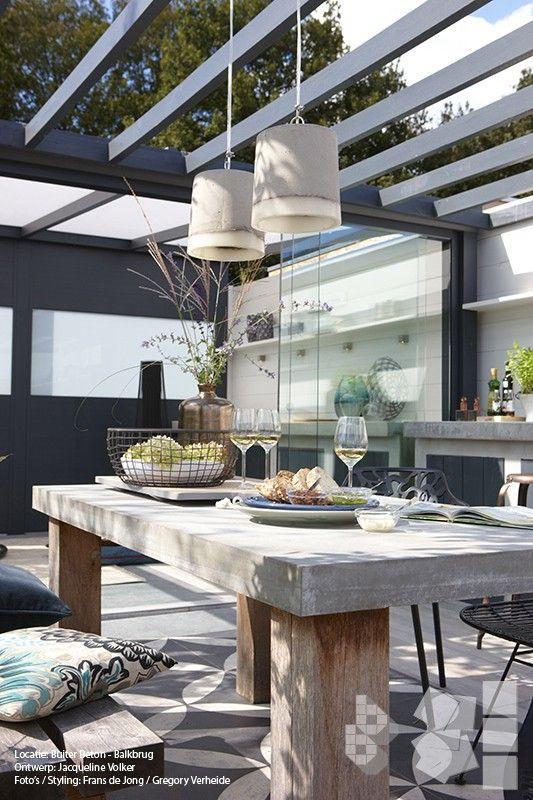 cuisine d 39 ext rieur sign e jacqueline v lker cuisine exterieur outdoorkitchen balcons et. Black Bedroom Furniture Sets. Home Design Ideas