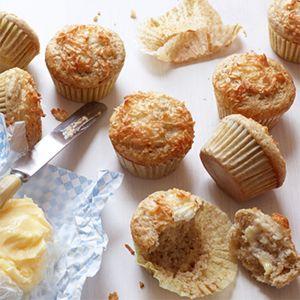 Coconut Muffins #recipe #muffins