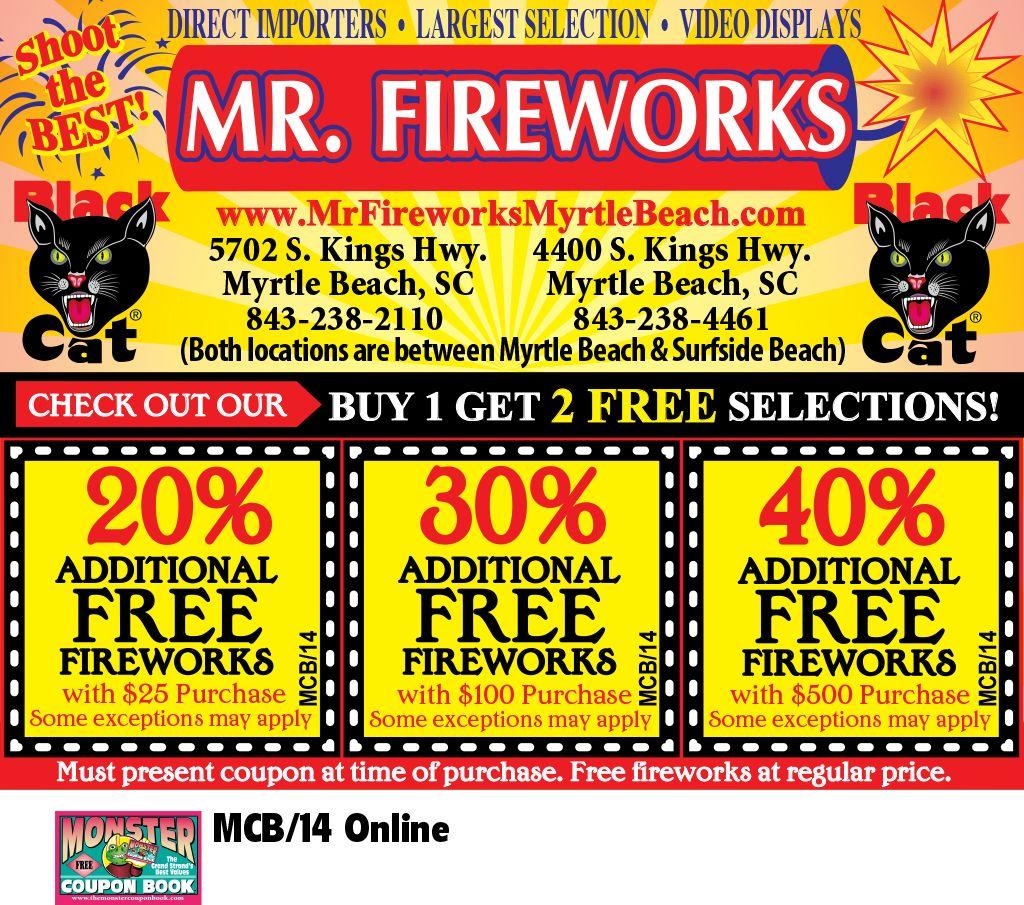Mr Fireworks Myrtle Beach Resorts Myrtle Beach Myrtle Beach Resorts Beach Resorts