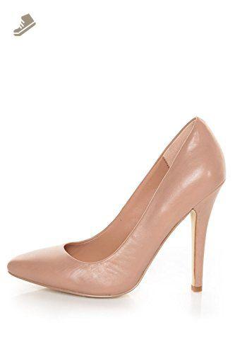 Steve Madden Women's Leena Pump,Blush Leather,6.5 M US - Steve madden pumps for women (*Amazon Partner-Link)