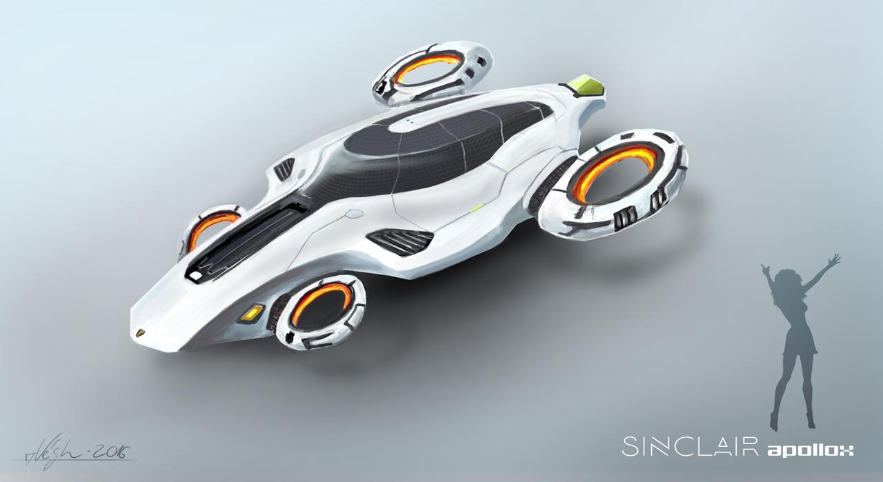 Flying Car By Feroxx Gosu Flying Car Car Hover Car