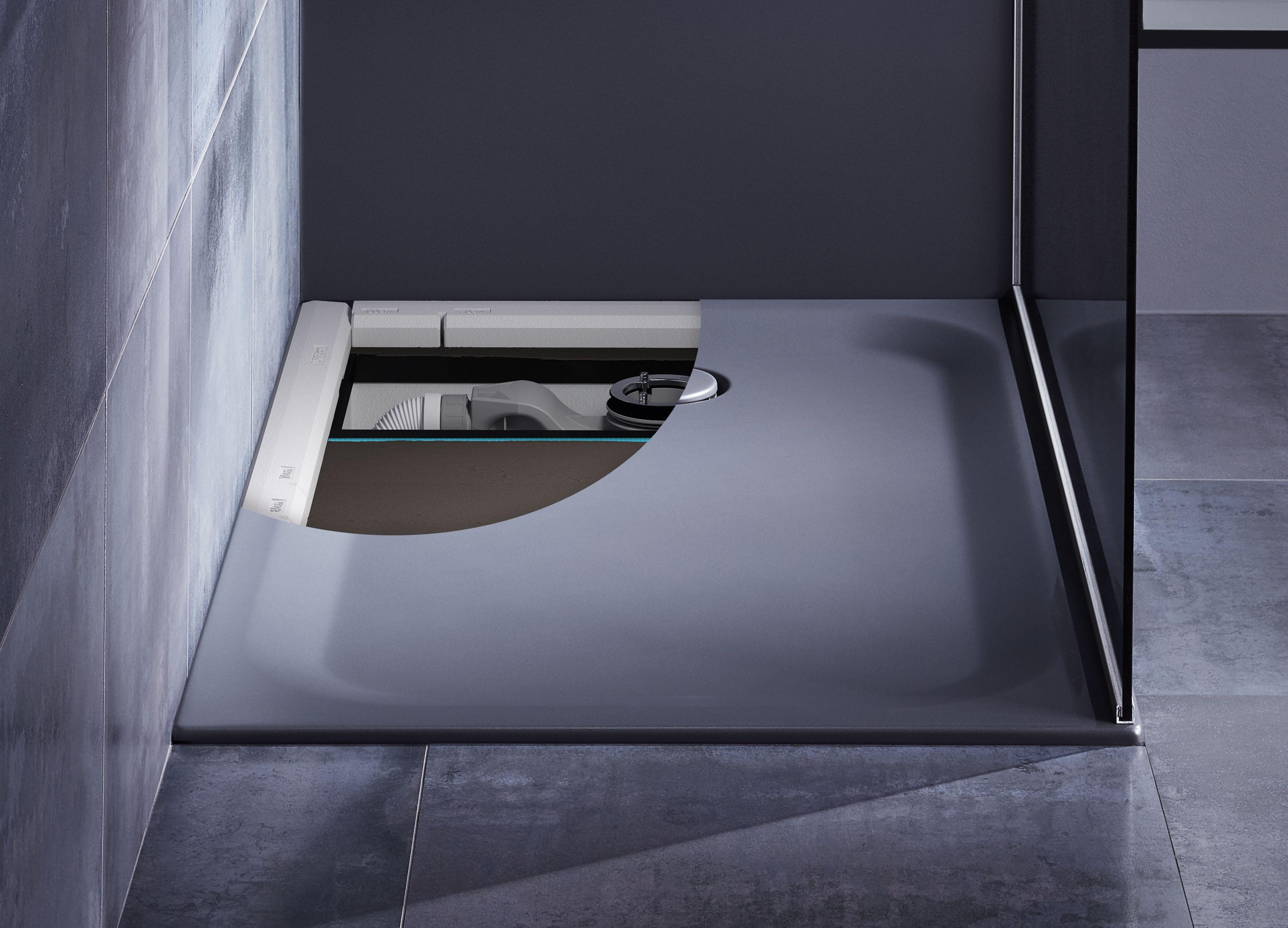 Kombi Losung Von Bette Duschwannen Im Handumdrehen Installieren Duschwanne Dusche Wanne