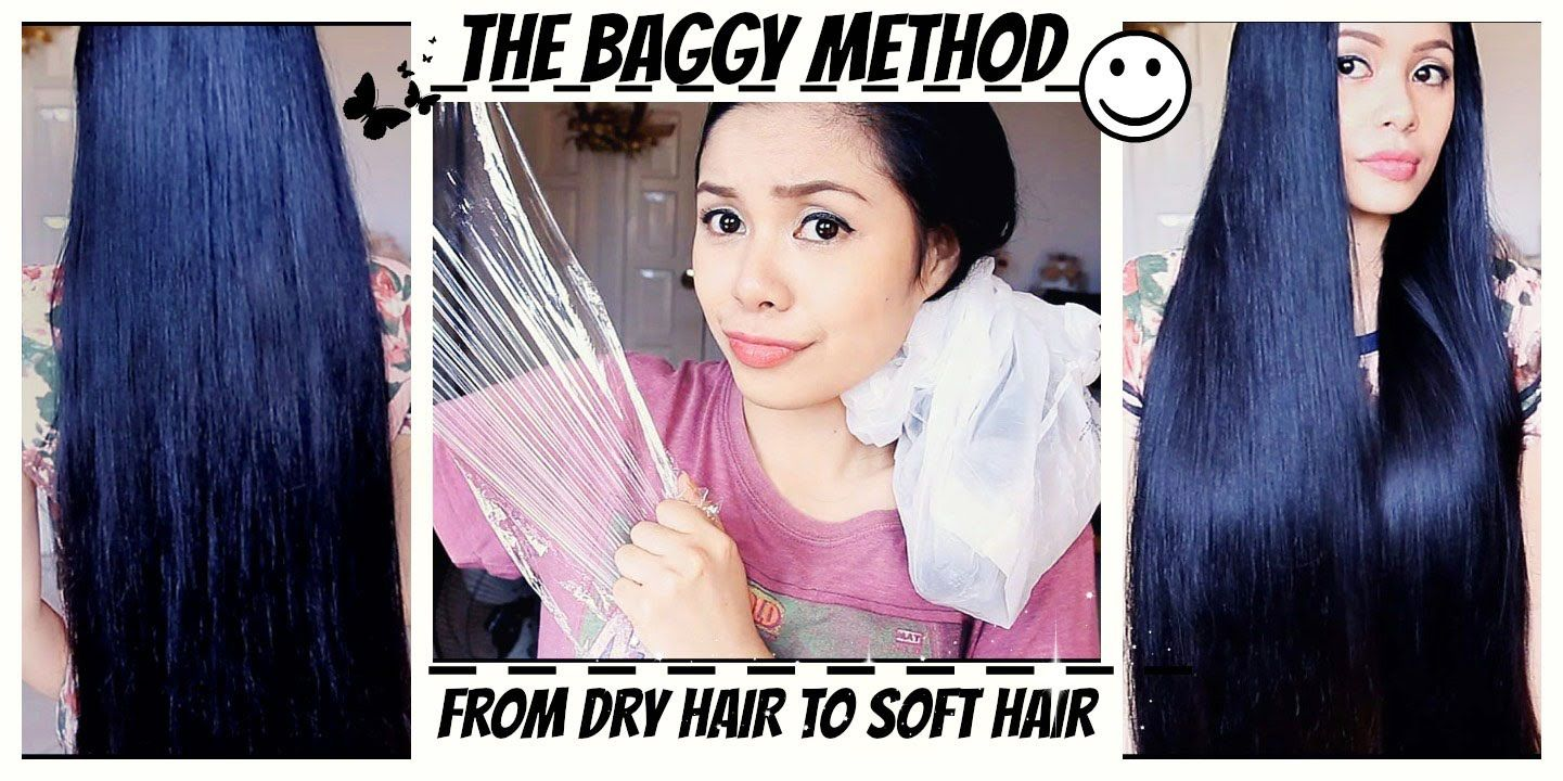 Baggy Method For Tangled Hair Split Ends And Breakage Extremely