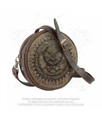 e04c610380 Aetheric Inclinometer Brown Leather Purses, Steampunk Accessories, Steampunk  Clothing, Gothic Steampunk, Steampunk