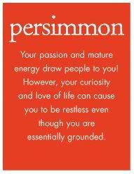 persimmion :)