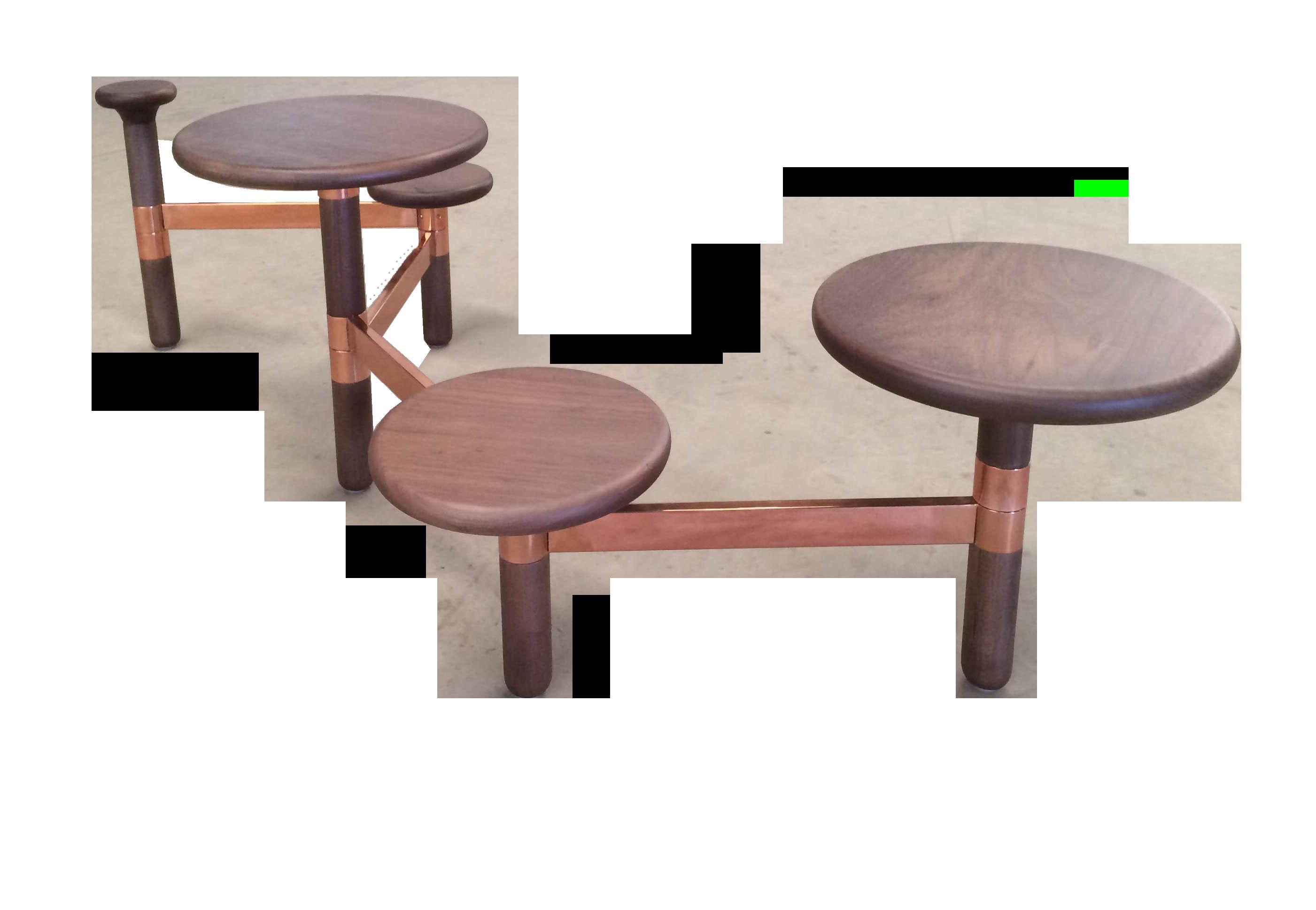 Ciranda table center by Plataforma 4