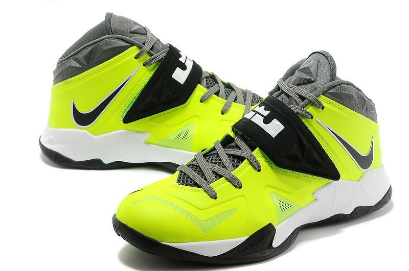 Nike-Zoom-Lebron-Soldier-7-Green-Black-White. Lebron 7Nike ZoomJordan  ShoesAir ...