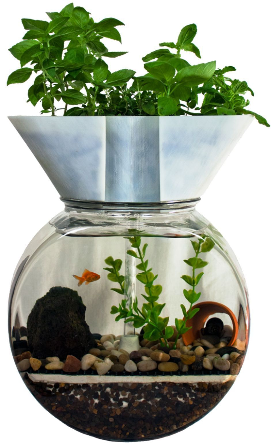 This is diy indoor aquaponics fish tank ideas image you can read