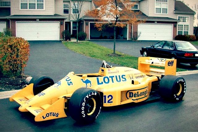 F1 Car for Sale  1987 Lotus 99T5 ex Ayrton Senna  F1 Art