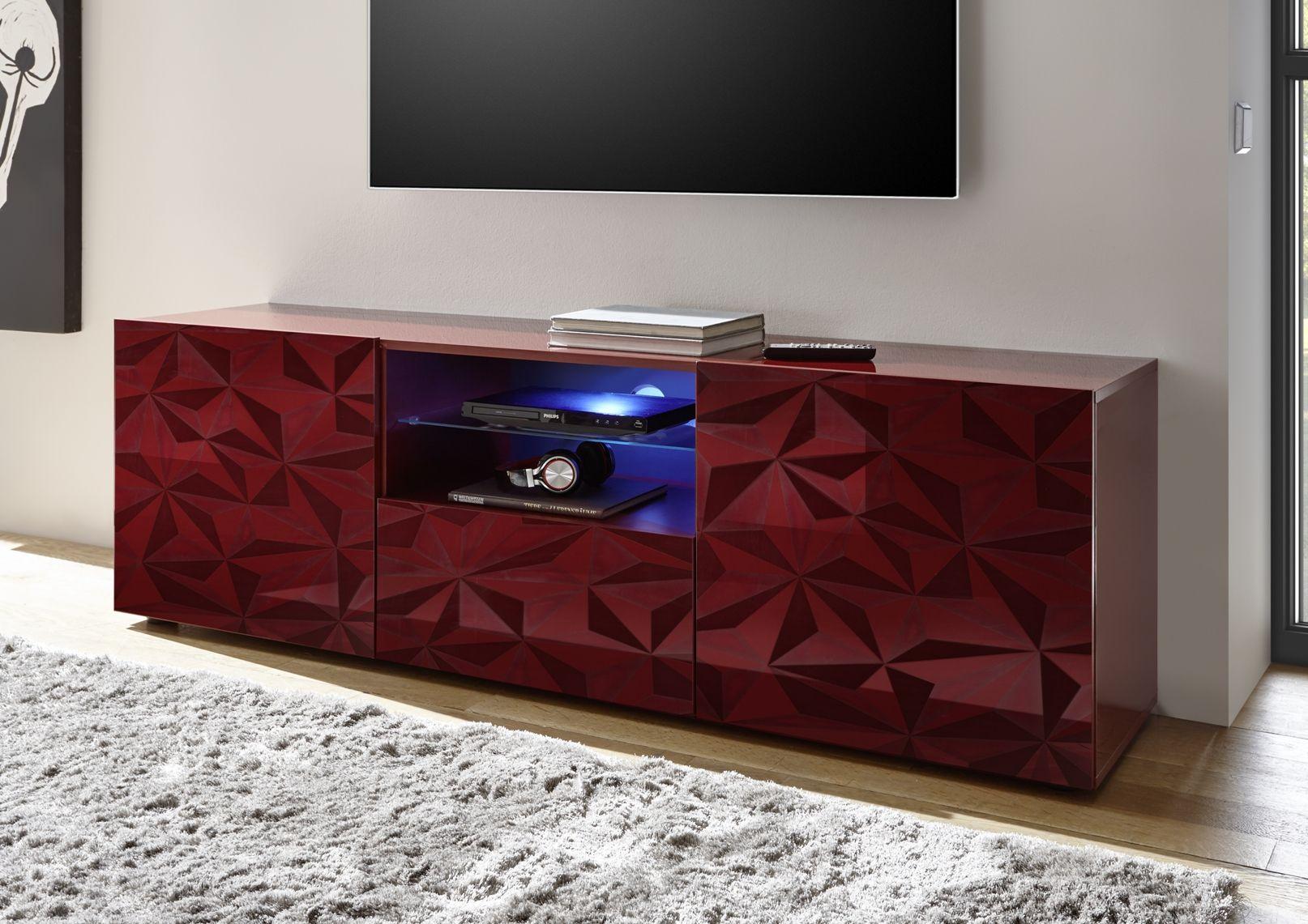 Credenza Alta Moderna Economica : Prismo 02 porta tv 2 ante 1 cassetto pinterest