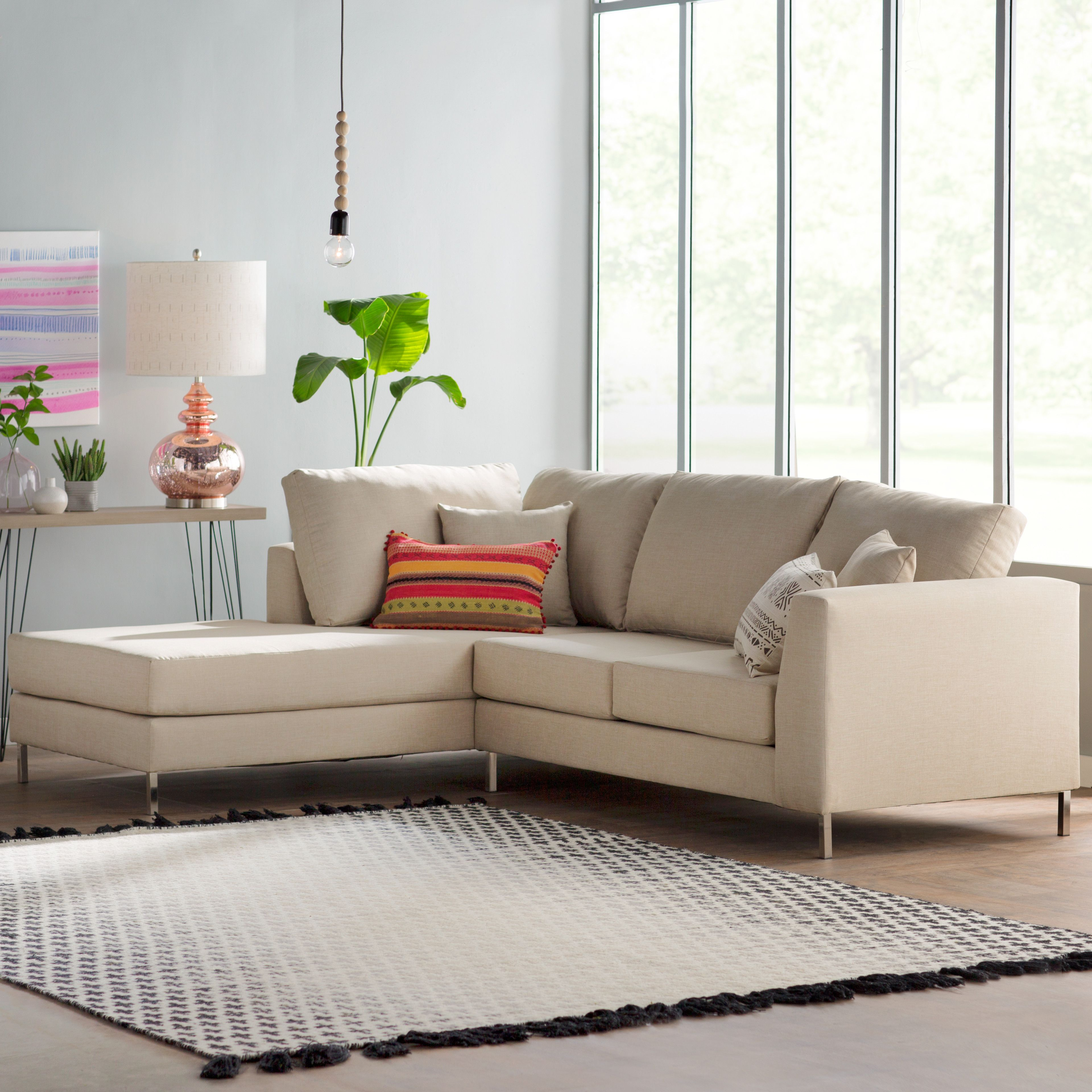 Bungalow Rose Athena Sectional Living room Pinterest
