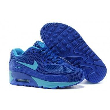 the best attitude b07d8 a0062 Nike Kids Air Max 90 Tpu Kpu Shoes Dark Blue Sky Blue