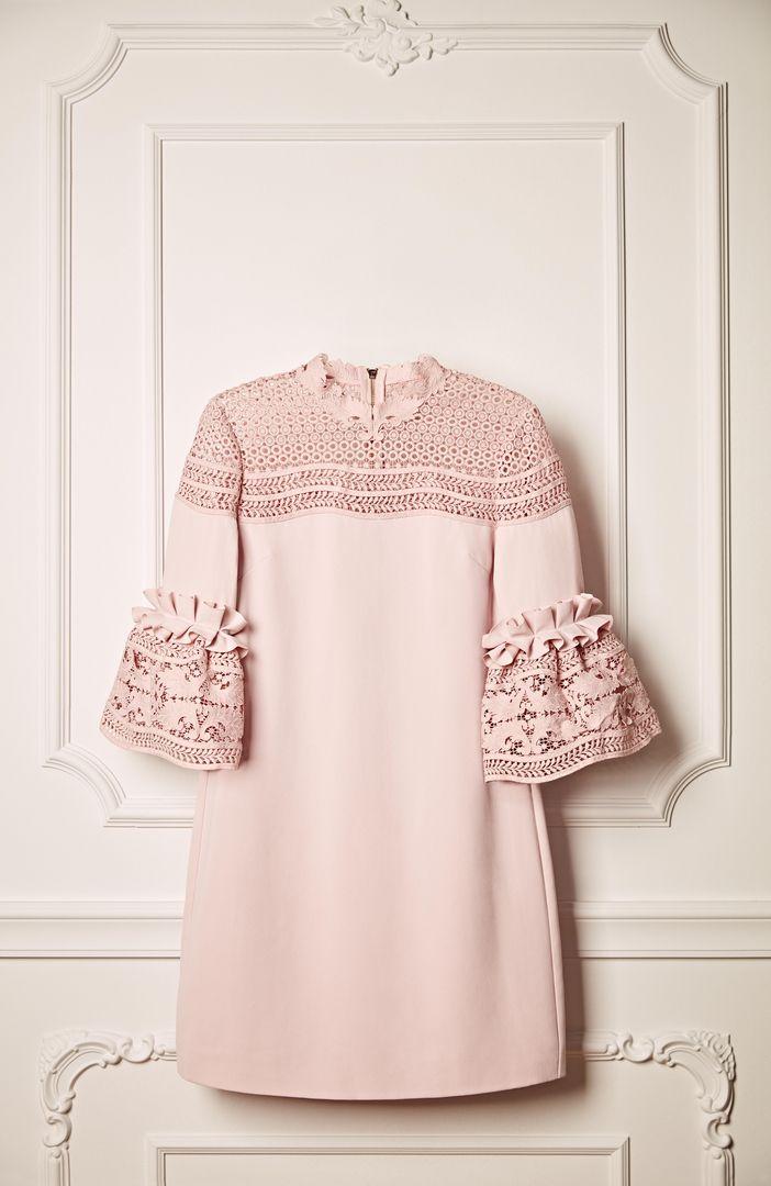 1970f5ccb Ted Baker LUCILA lace bell sleeved dress