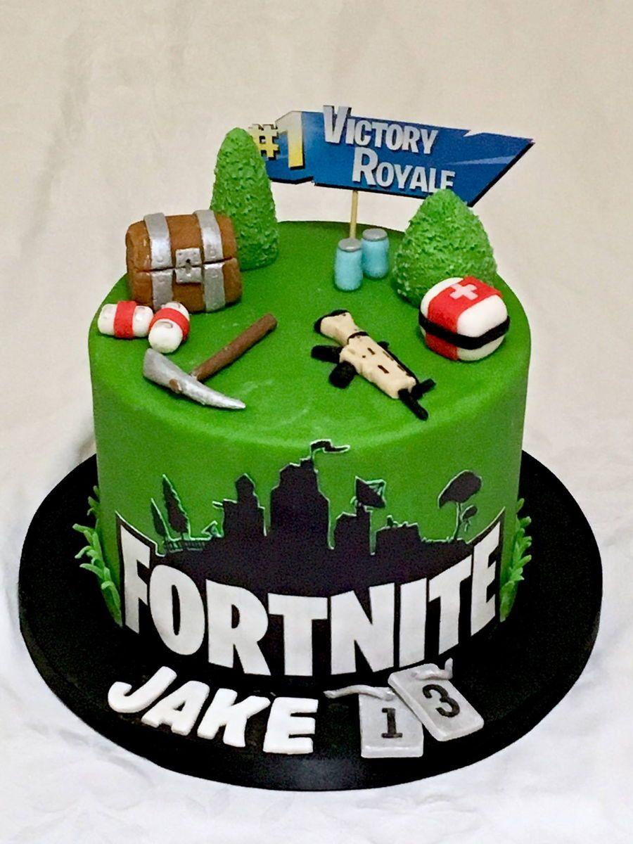 fortnite cakes Google Search Birthday cake kids
