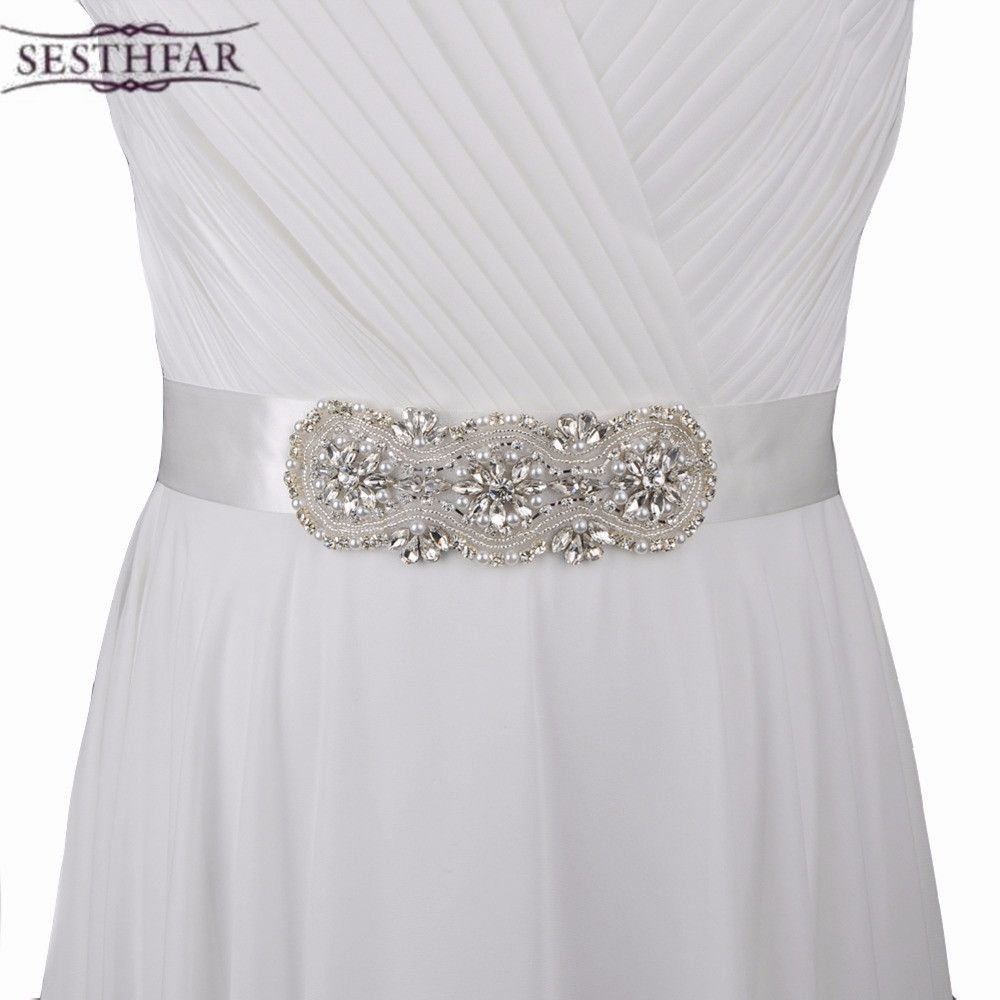 Azaleas Wedding dress belts flower and pearl,Wedding Belts Sash,bride belt for dress
