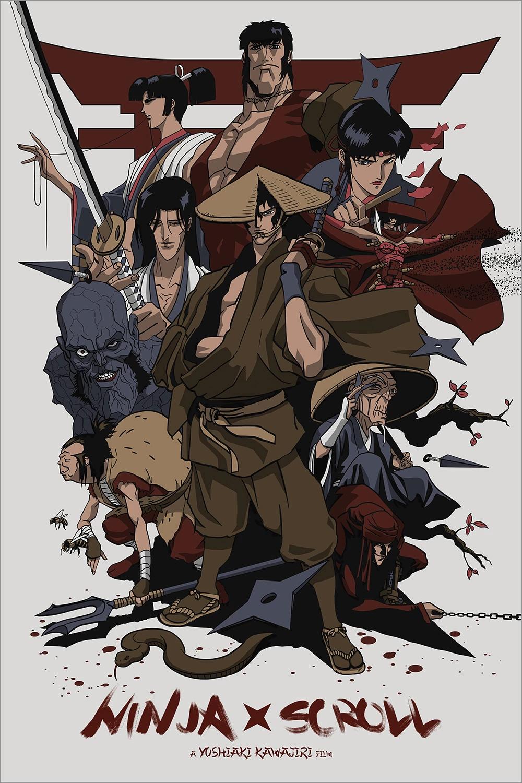 Ninja Scroll By Yvan Quinet Ninja Scroll Anime Anime Ninja Cool Art