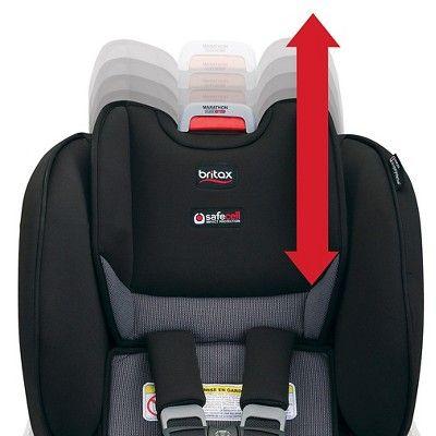 Britax Marathon Clicktight Convertible Car Seat Black