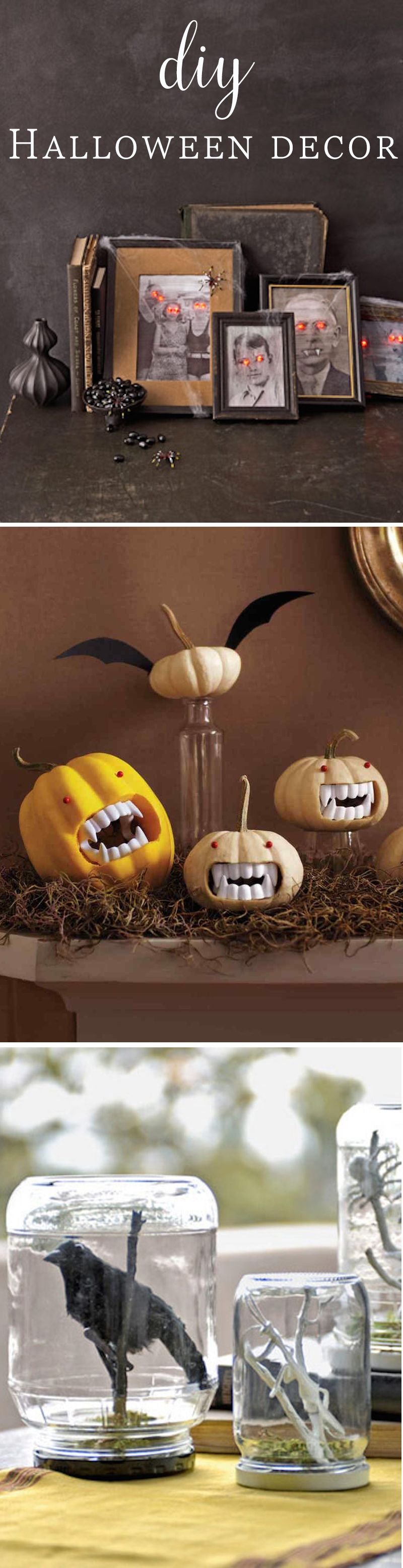19 DIY Clever Halloween Party Decorating Tips Halloween DIY - scary halloween decor