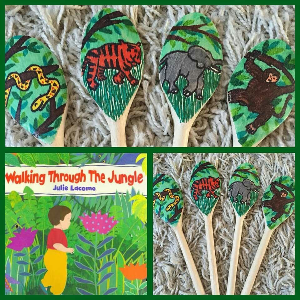 Walking Through The Jungle - Story Spoon
