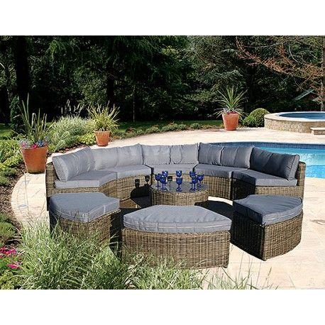 Wickerline Rattan Sofa Garden Furniture Pinterest