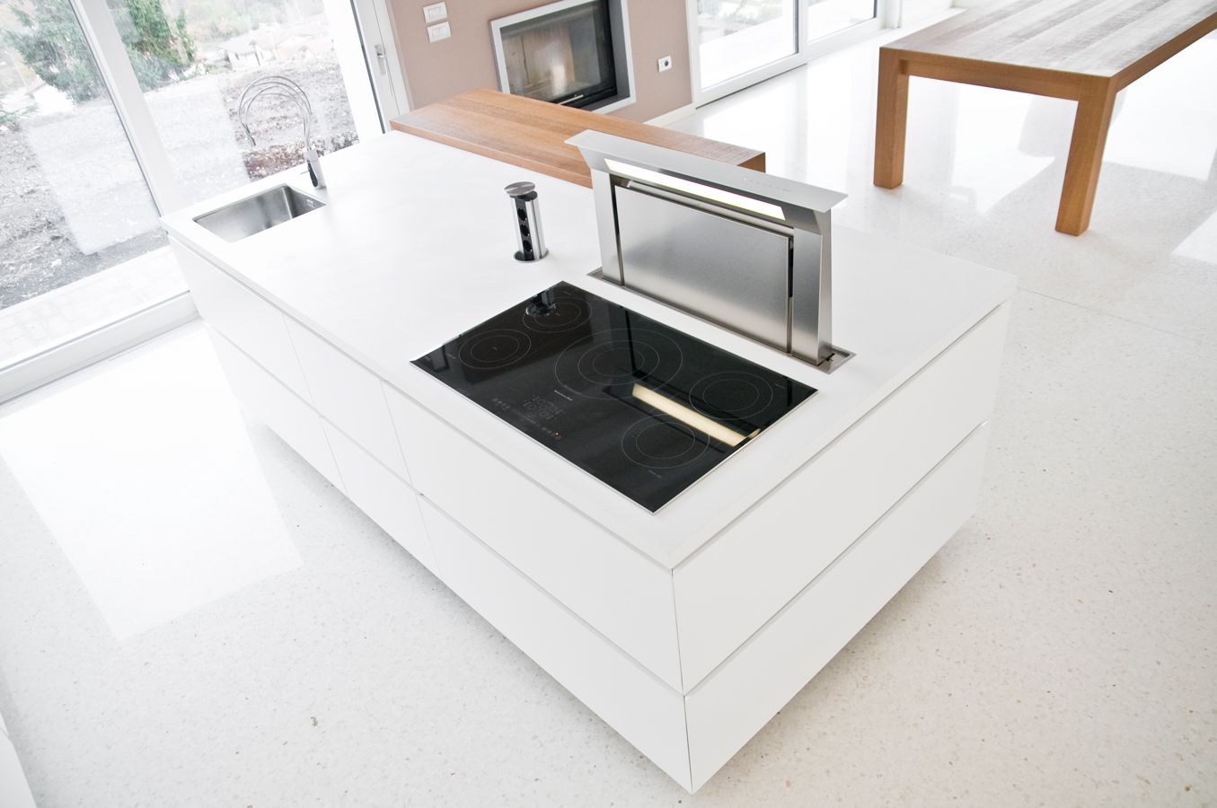 the extractor fan | Kitchen | Pinterest | Extractor fans, Corian ...