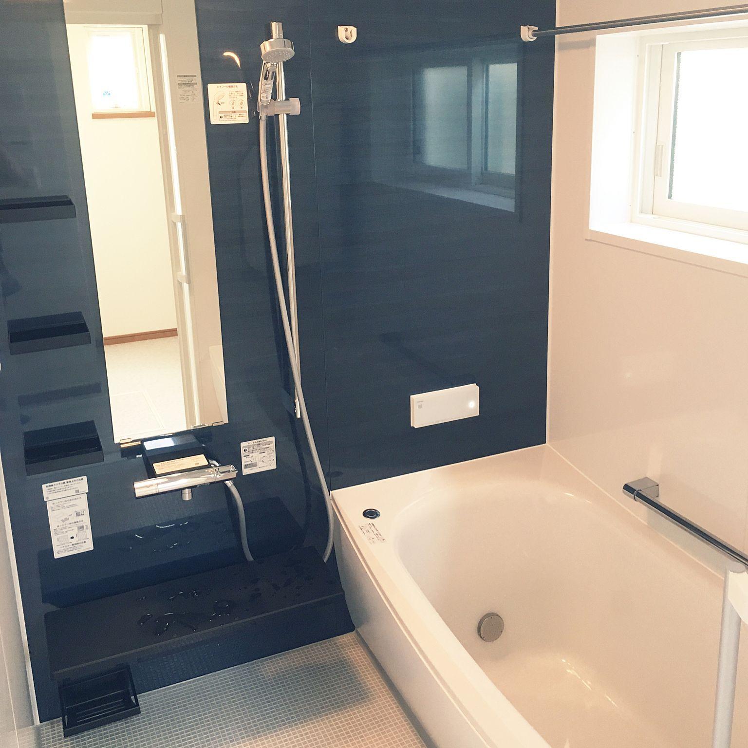 バス トイレ ダークブルー Totoサザナ ゆりかご浴槽 クレイドル浴槽