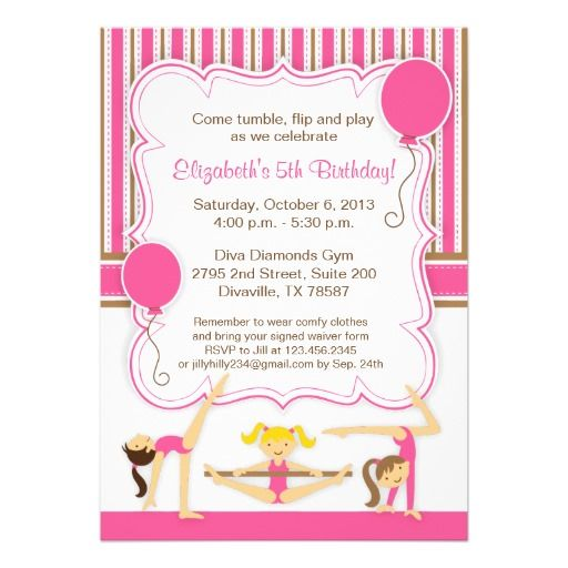 @@@Karri Best price          Gymnastic Girls Birthday Party Invitation           Gymnastic Girls Birthday Party Invitation today price drop and special promotion. Get The best buyReview          Gymnastic Girls Birthday Party Invitation Here a great deal...Cleck Hot Deals >>> http://www.zazzle.com/gymnastic_girls_birthday_party_invitation-161352041608947644?rf=238627982471231924&zbar=1&tc=terrest