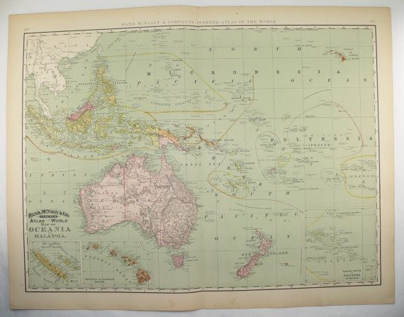 Oceania Map Malaysia Polynesia Map Pacific Ocean Islands Map