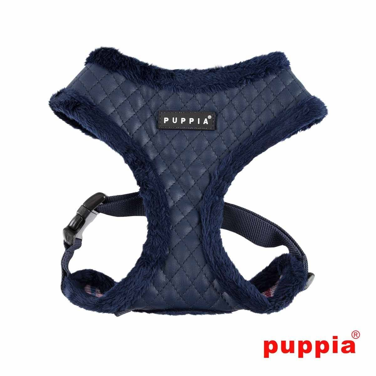 Farren adjustable dog harness by puppia navy dog