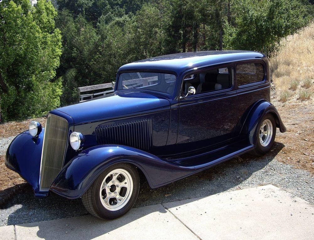 1934 chevy sedan 2 dr classic cars trucks hot rods