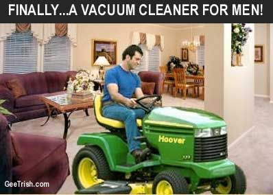 A Vacuum For Men Lawn Mower Tires Lawn Mower Funny Pictures