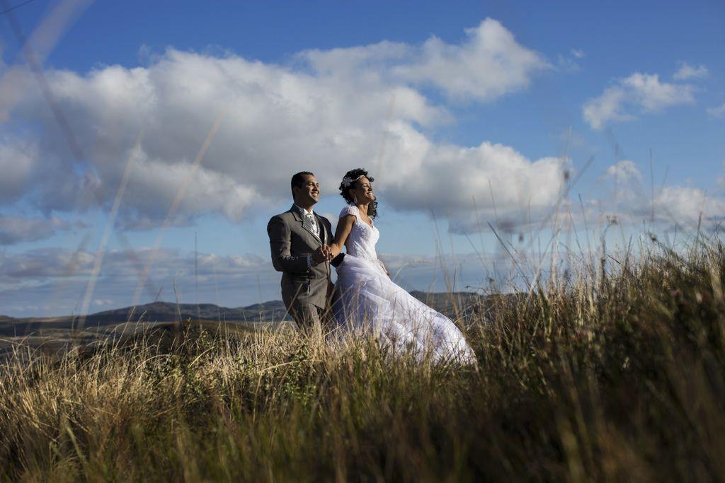 A linda paisagem da Serra do Cipó,   para o lindo casal Jessica e Tiago