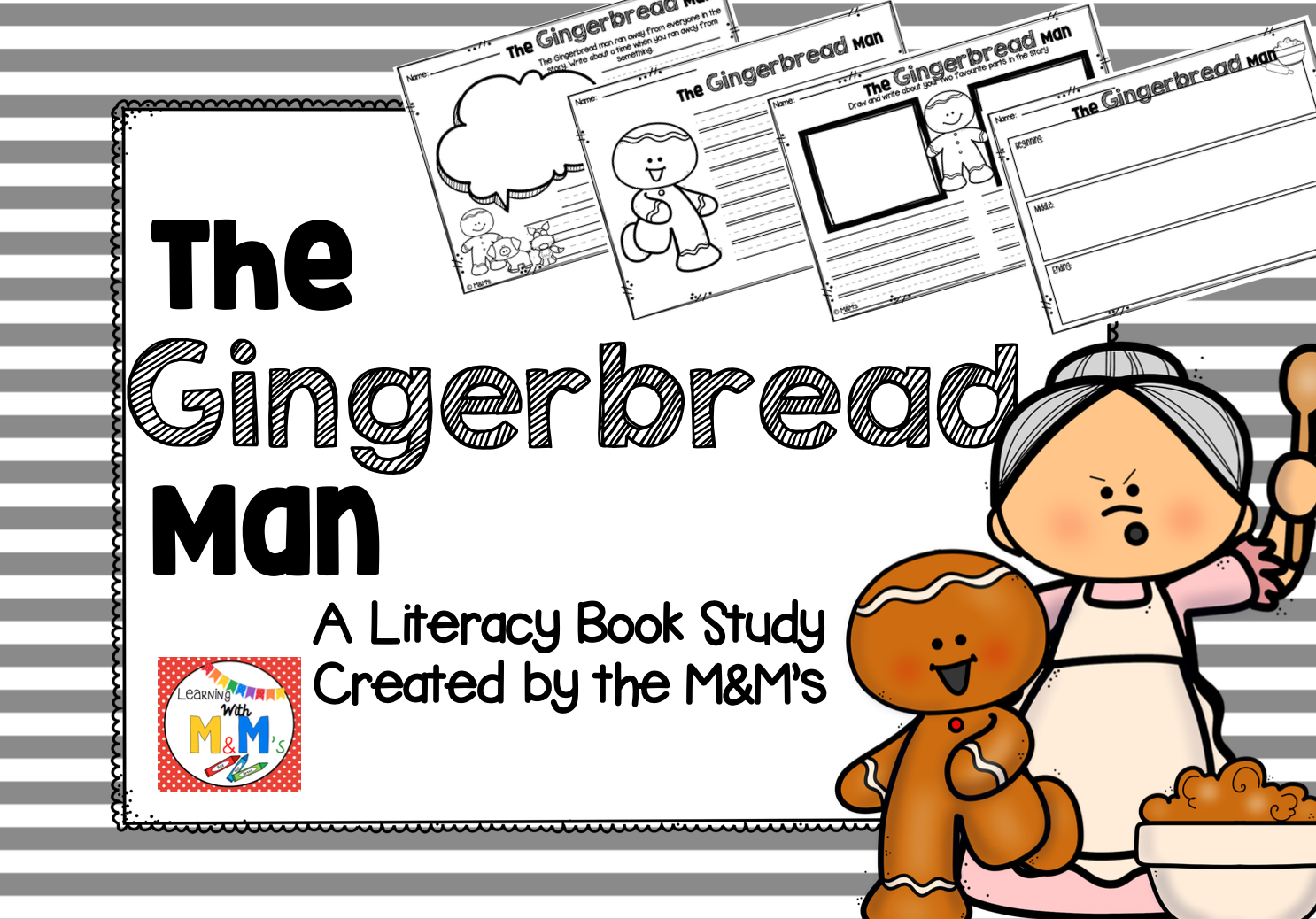 The Gingerbread Man Literacy Book Study