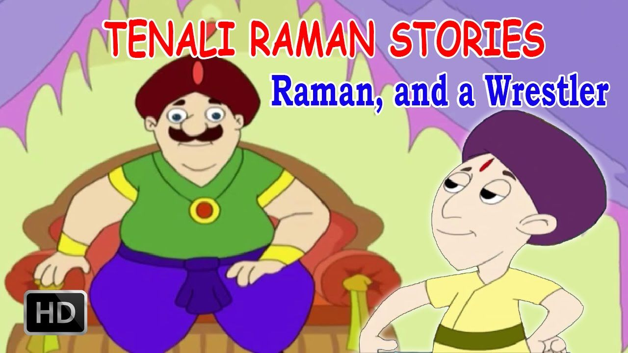 Tenali Raman - Raman and the Wrestler - Kids Stories In