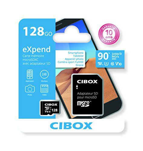 cibox carte m moire microsd expend l 39 expend carte micro sd de 128 go chez cibox est. Black Bedroom Furniture Sets. Home Design Ideas