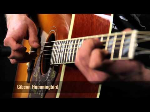 Click To Sign Up For The Acoustic Letter For More Comparisons And Guitar Demo Videos Gibson Hummingbird Vs Mart Best Acoustic Guitar Guitar Acoustic Guitar