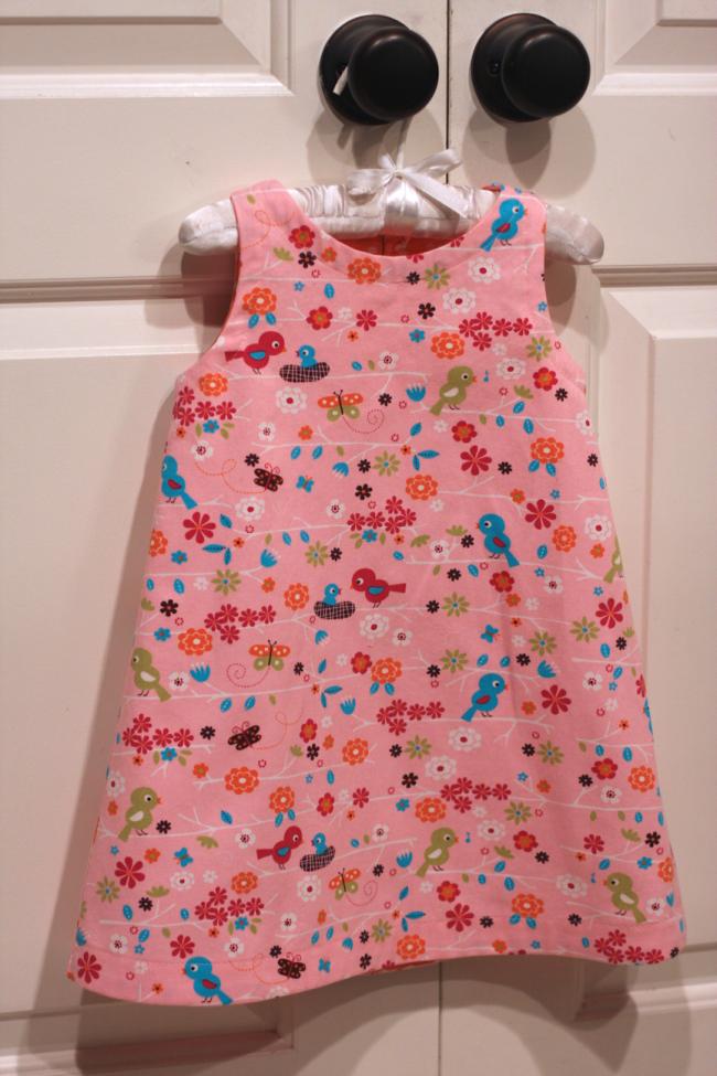 9119e2e32 Free basic aline dress pattern ... sizes 18 months - 5T