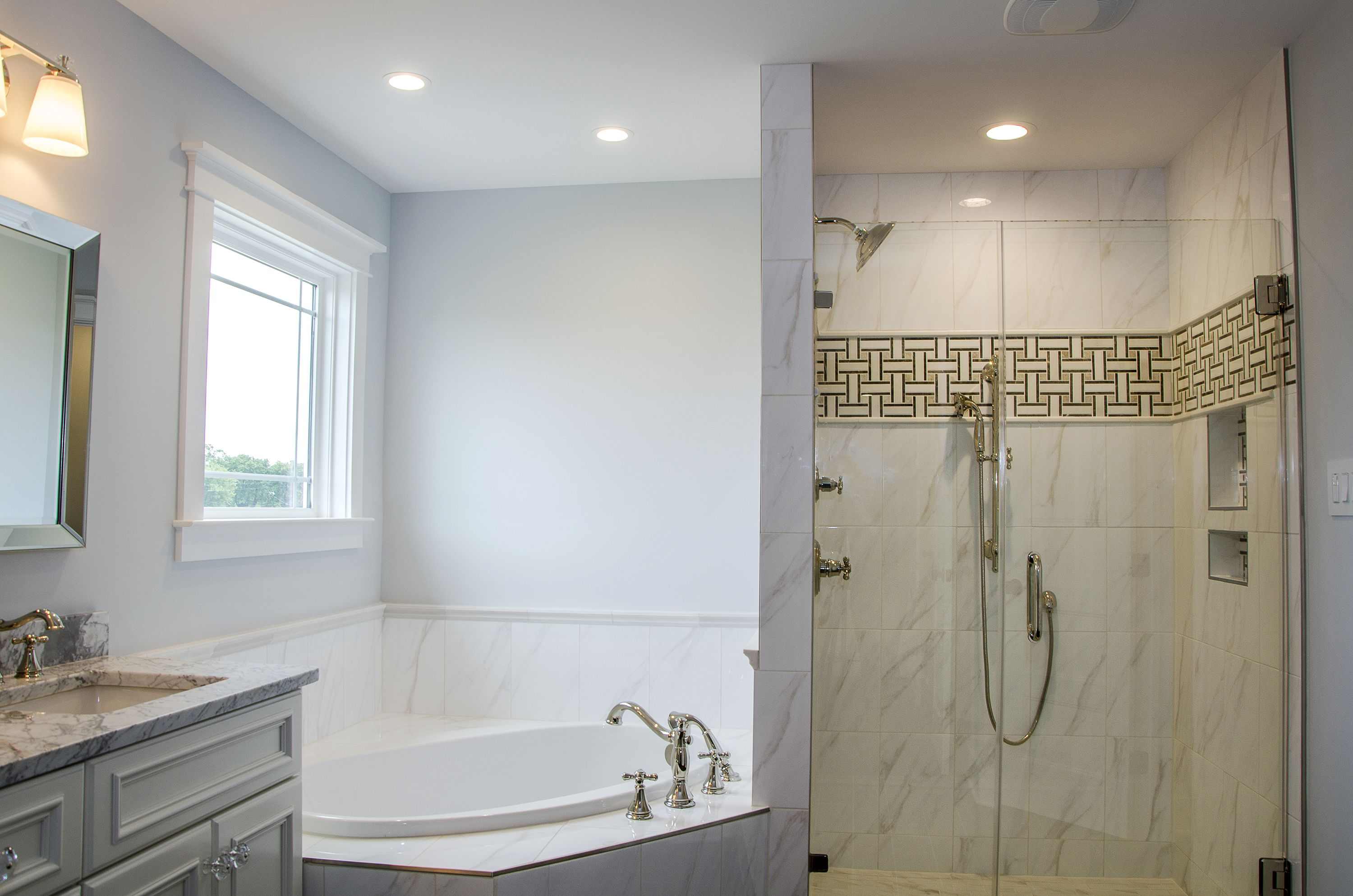 Awesome Separate Tub and Shower Ideas