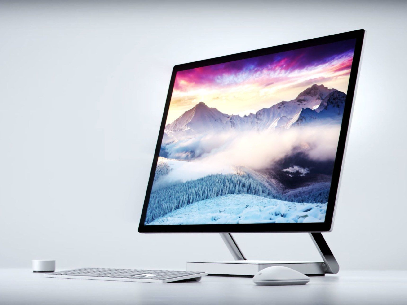 Look at Microsoft s Fancy Surface Studio All in e PC