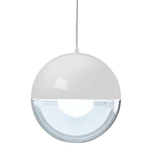 ORION Suspension Transparent Blanc ˜32 7cm