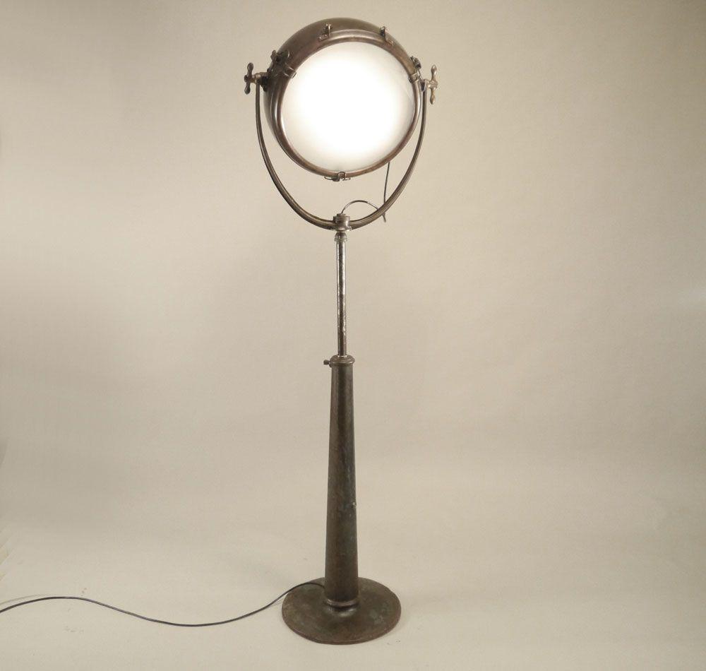 Copper Spotlight Floor Lamp   Conant Metal U0026 Light