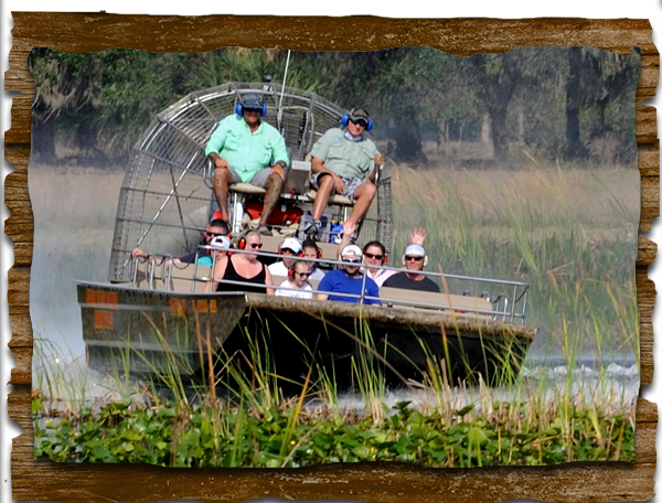 Home Orlando's Best Airboat Tours in Central Florida