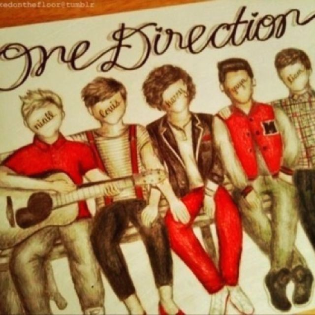 1d drawing