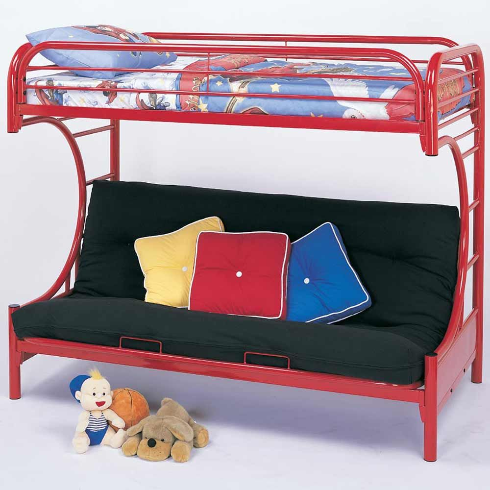 Bunk Beds For Teens Futon Bunk Beds For Teens With Tubular Metal