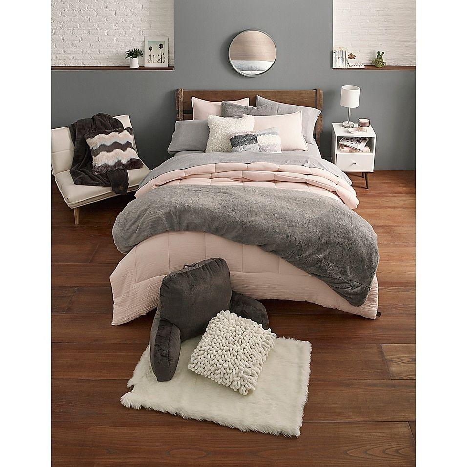 Ugg Devon 3 Piece Reversible Comforter Set Bed Bath Beyond Bedroom Comforter Sets Comforter Sets Bed Comforter Sets