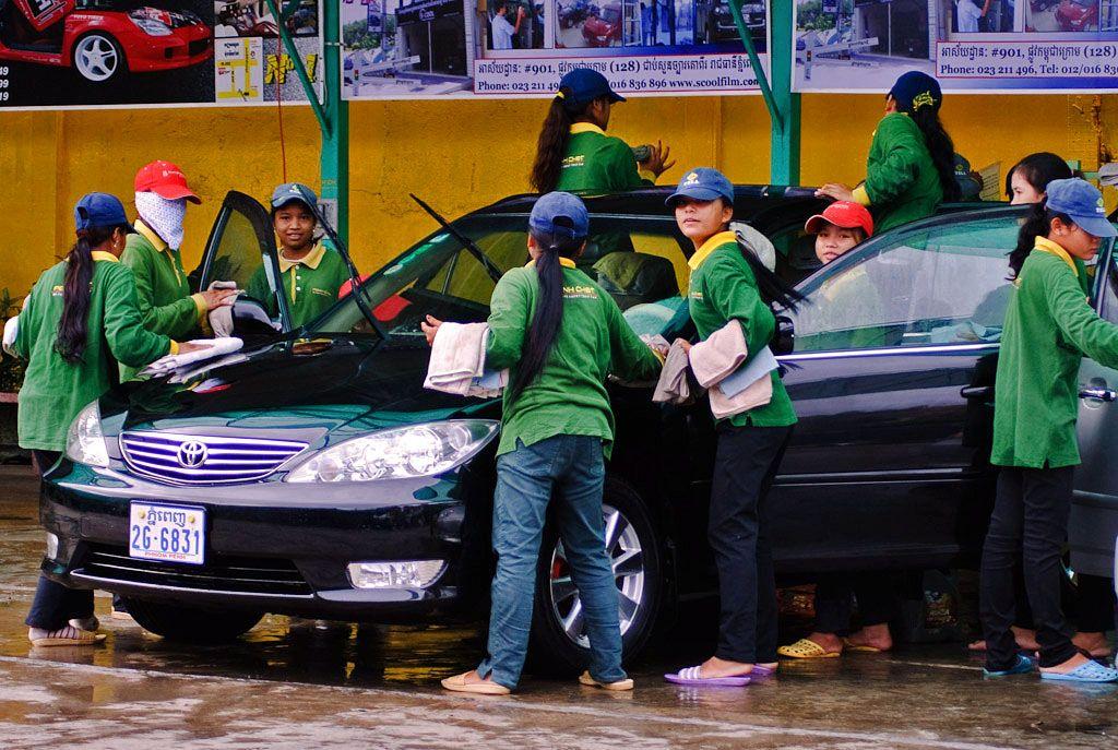 Local Car Wash >> A Local Car Wash My Phnom Penh Local Car Wash Car Wash