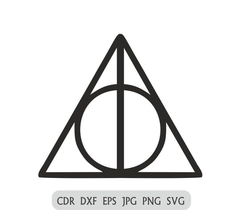 Deathly Hallows Svg Harry Potter Png Hogwarts Vector Files Set Deathly Hallows Symbo Harry Potter Silhouette Deathly Hallows Symbol Silver Turquoise Jewelry